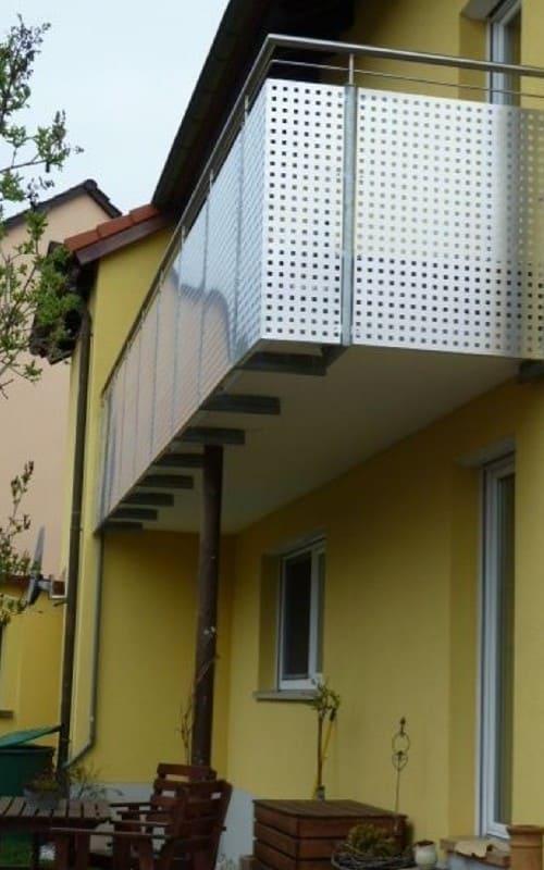 Professioneller Balkonbau Würzburg Schöne Balkone aus Stahl und Edelstahl bei Duran Wagner