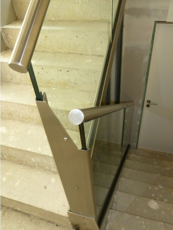 Treppe / Treppen aus Stahl und Edelstahl. Treppenbau Würzburg